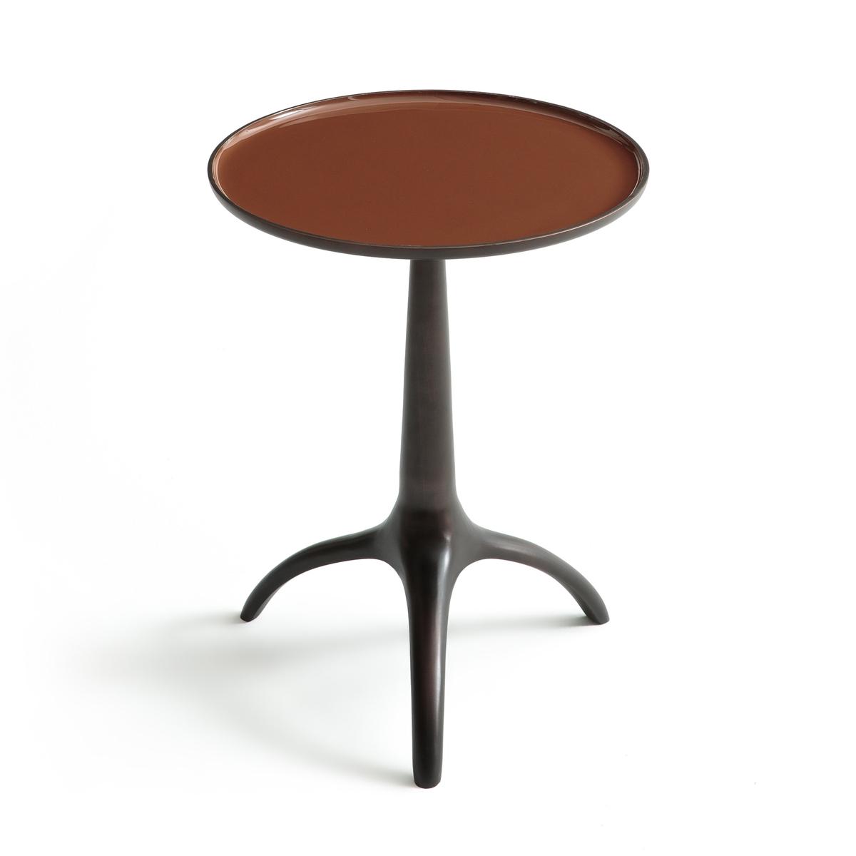 Столик В45 см, HysopeСтолик  Hysope. Можно сочетать с выдвижным столиком В62 см Hysope, который продаётся на сайте.Характеристики :- Из алюминия с эмалевой отделкой на столешнице и ножками из состаренной меди- Доставляется в собранном видеРазмер :- ?35 x 45 см Размеры и вес ящика :- Ш42 x В55 x Г42 см, 5,6 кг<br><br>Цвет: розовый,серо-бежевый