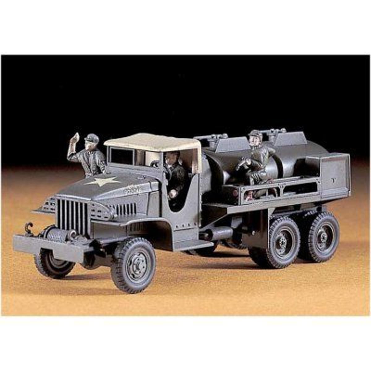 Maquette GMC CCKW-353 Gasoline Tank Truck