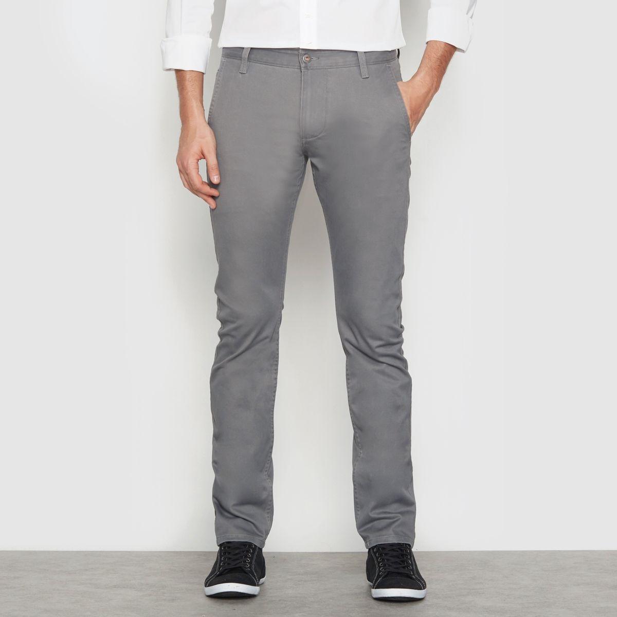 Pantalon chino coupe skinny Alpha Stretch Khaki