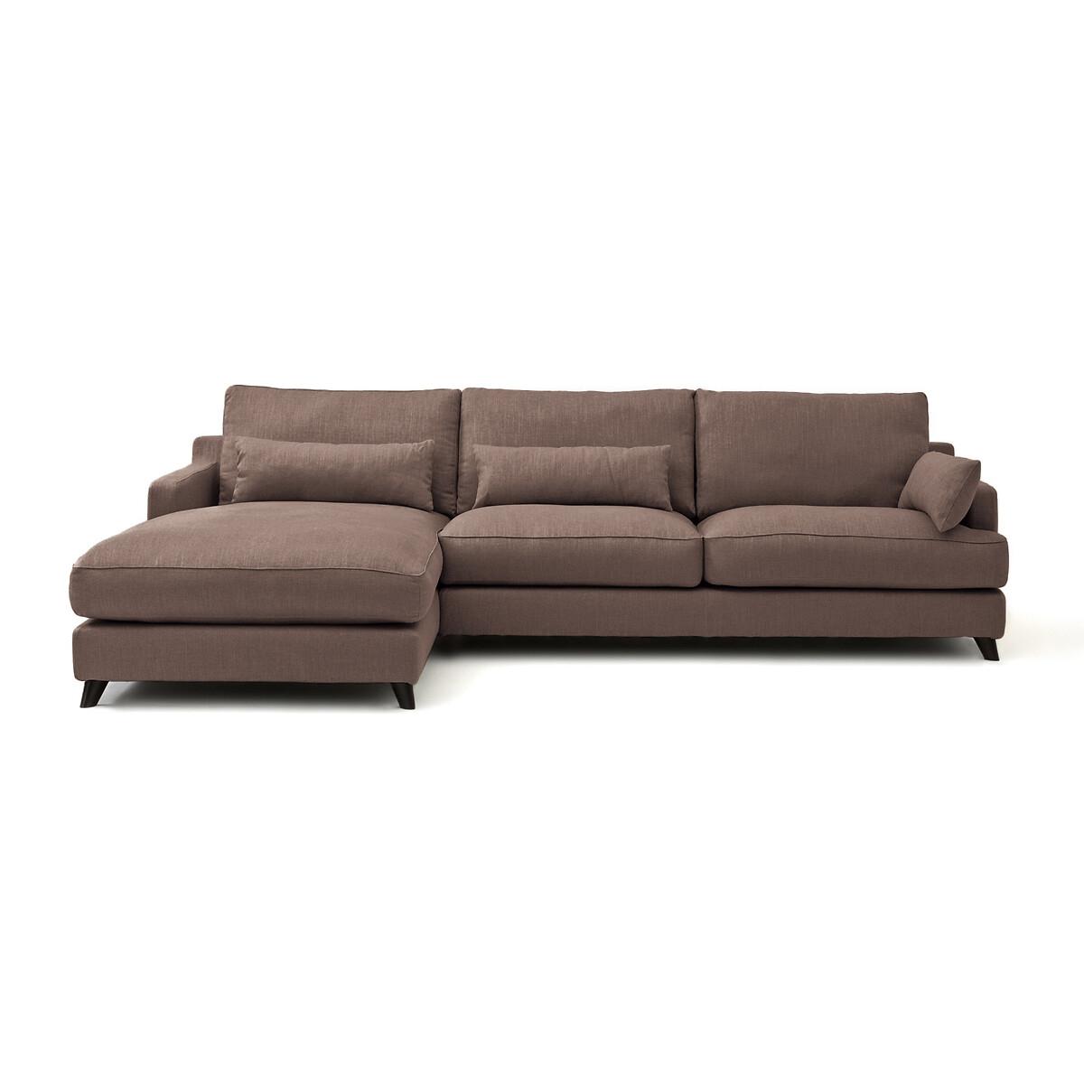 Canapé d'angle Tissu Luxe Contemporain Confort