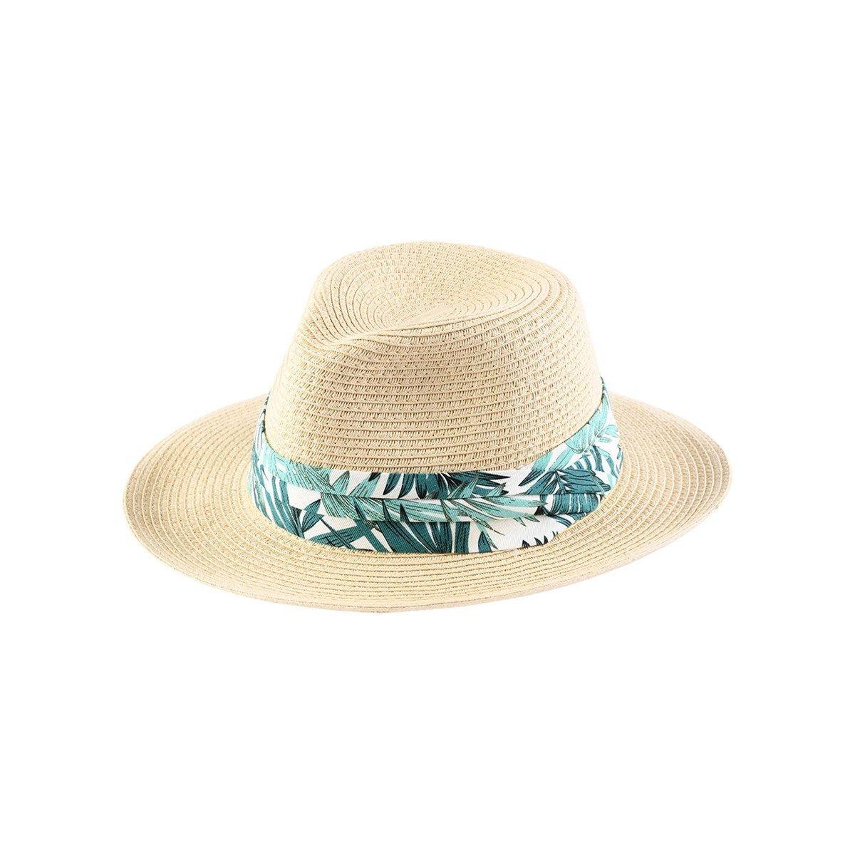 Chapeau avec galon tropical