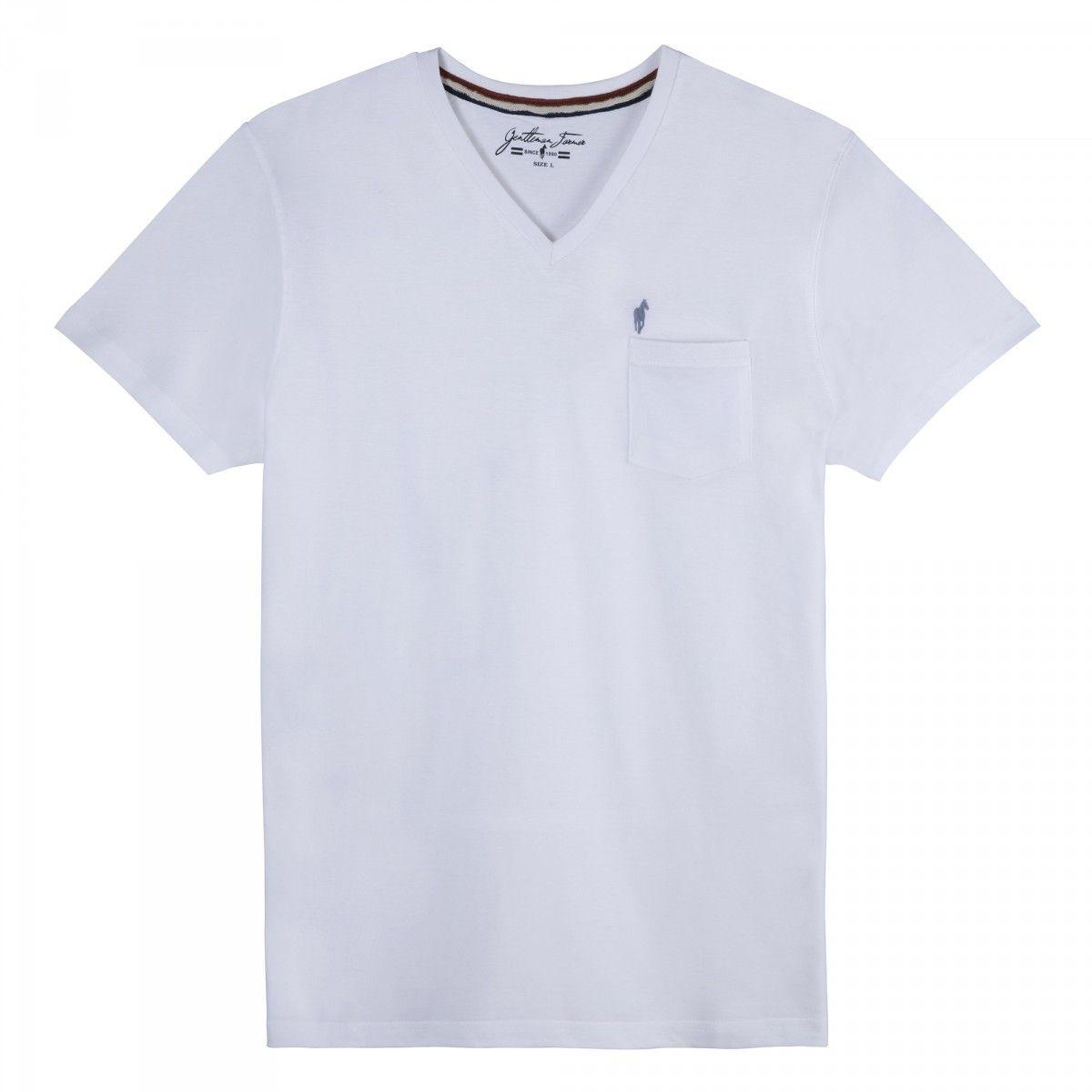 T-shirts col V TLOGOV