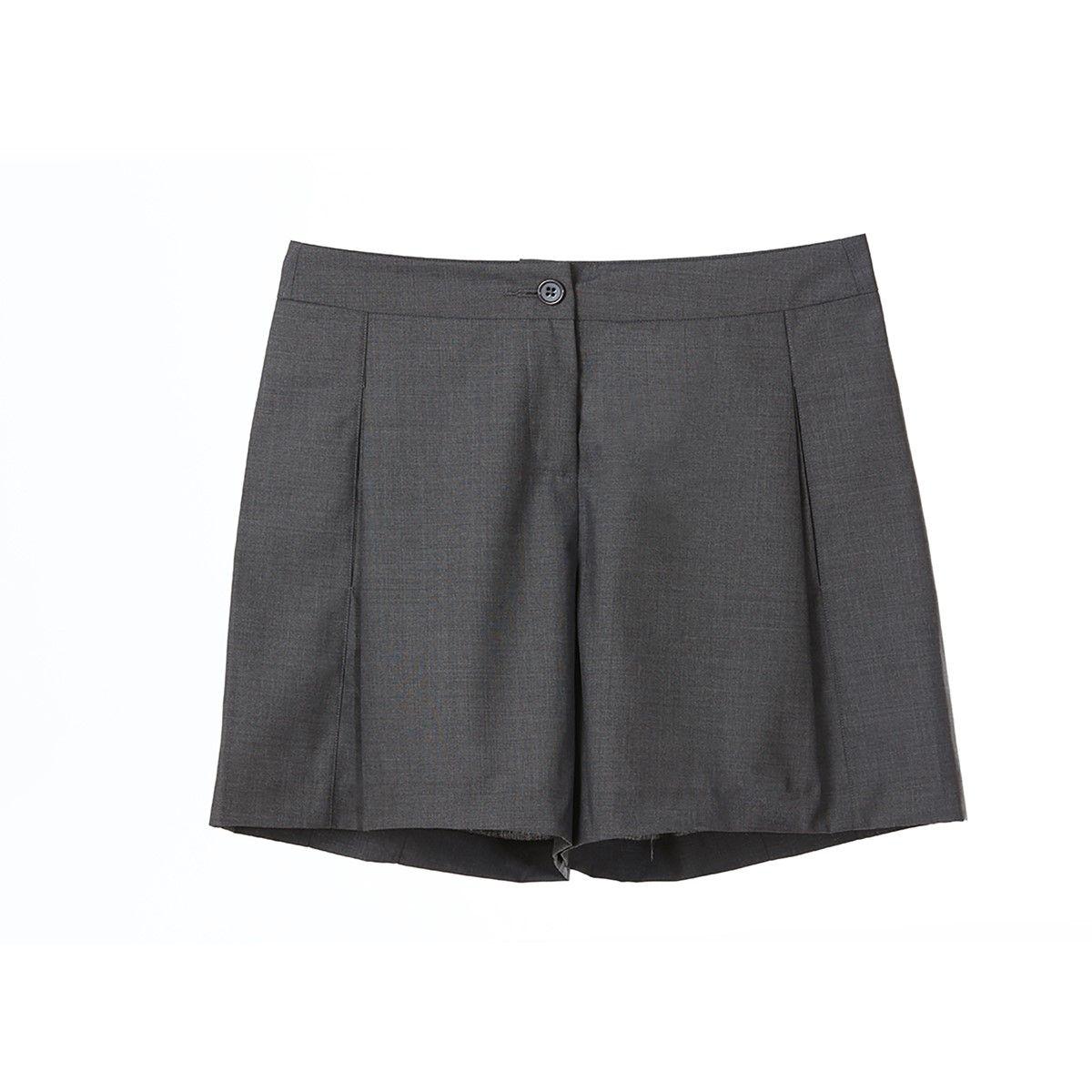 Short gris style Angleterre bcbg stylé classic chic ideal pour l hiver