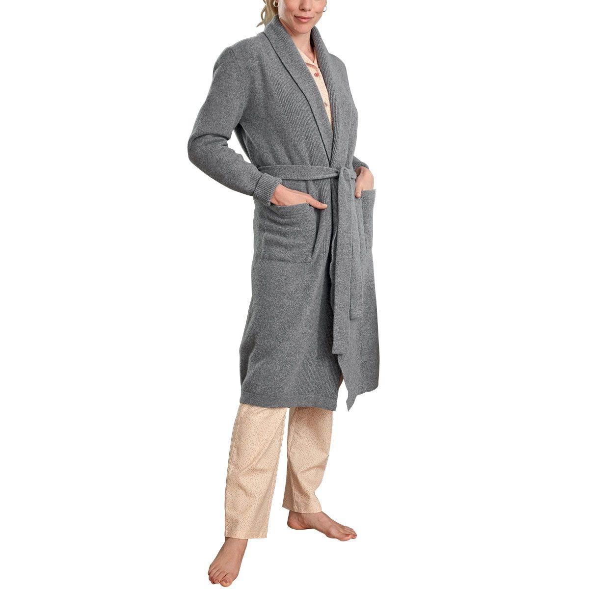 La robe de chambre femme en tricot, Made in France