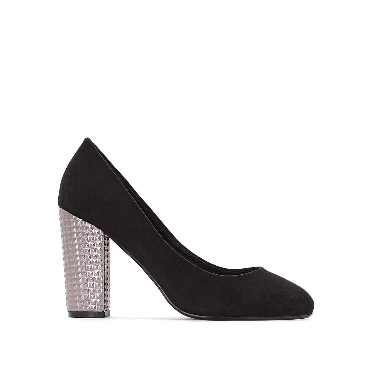 Zapatos de tacón fantasía, pie ancho, del 38 al 45
