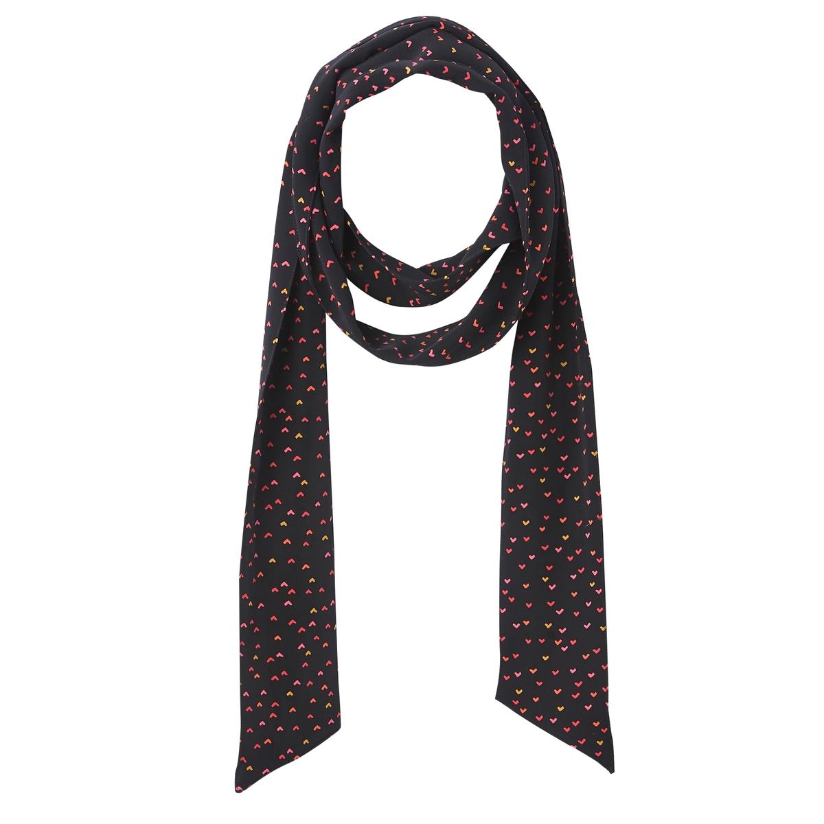 цена Платок-галстук La Redoute La Redoute UNI черный онлайн в 2017 году