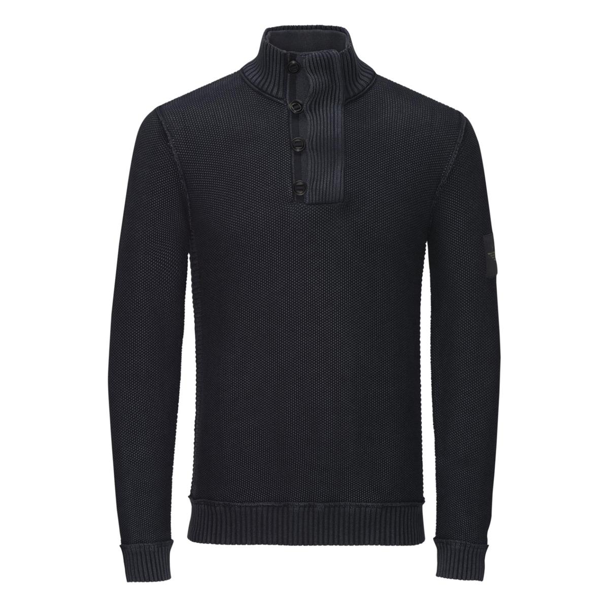 Пуловер BrandonСостав и описаниеМатериал : 100% хлопкаМарка :  JACK &amp; JONES VINTAGE<br><br>Цвет: черный<br>Размер: M