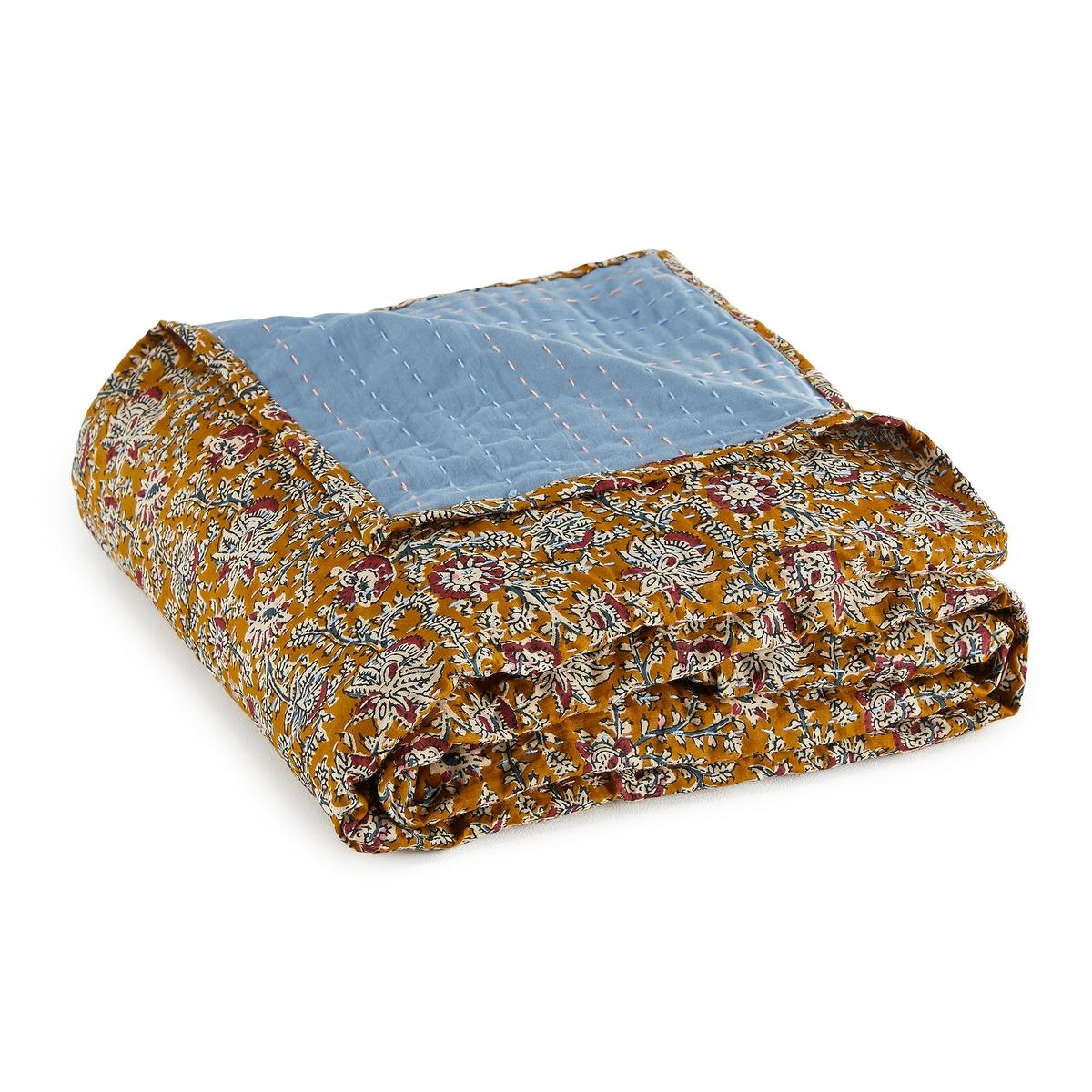 купить Плед La Redoute С вышивкой в стиле Кантха Normia 140 x 160 см другие онлайн