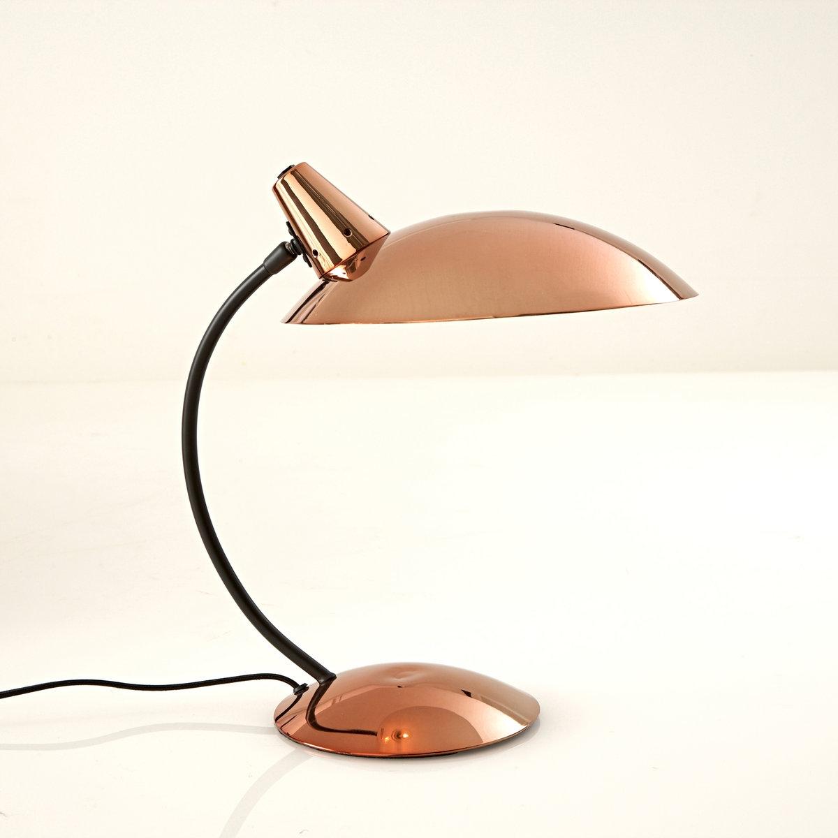 Лампа настольная в винтажном стиле, RosellaОписание лампы, Rosella  :Патрон E14 для флюокомпактной лампочки макс 8W (не входит в комплект)  Этот светильник совместим с лампочками    энергетического класса   : AХарактеристики лампы, Rosella  :Из металла с эпоксидным покрытиемЭлектрический кабель из черного текстиля Всю коллекцию светильников вы можете найти на сайте laredoute.ru. Размеры лампы, Rosella :Ширина : 40 смВысота : 42 смАбажур : диаметр 30 см .<br><br>Цвет: медный<br>Размер: единый размер
