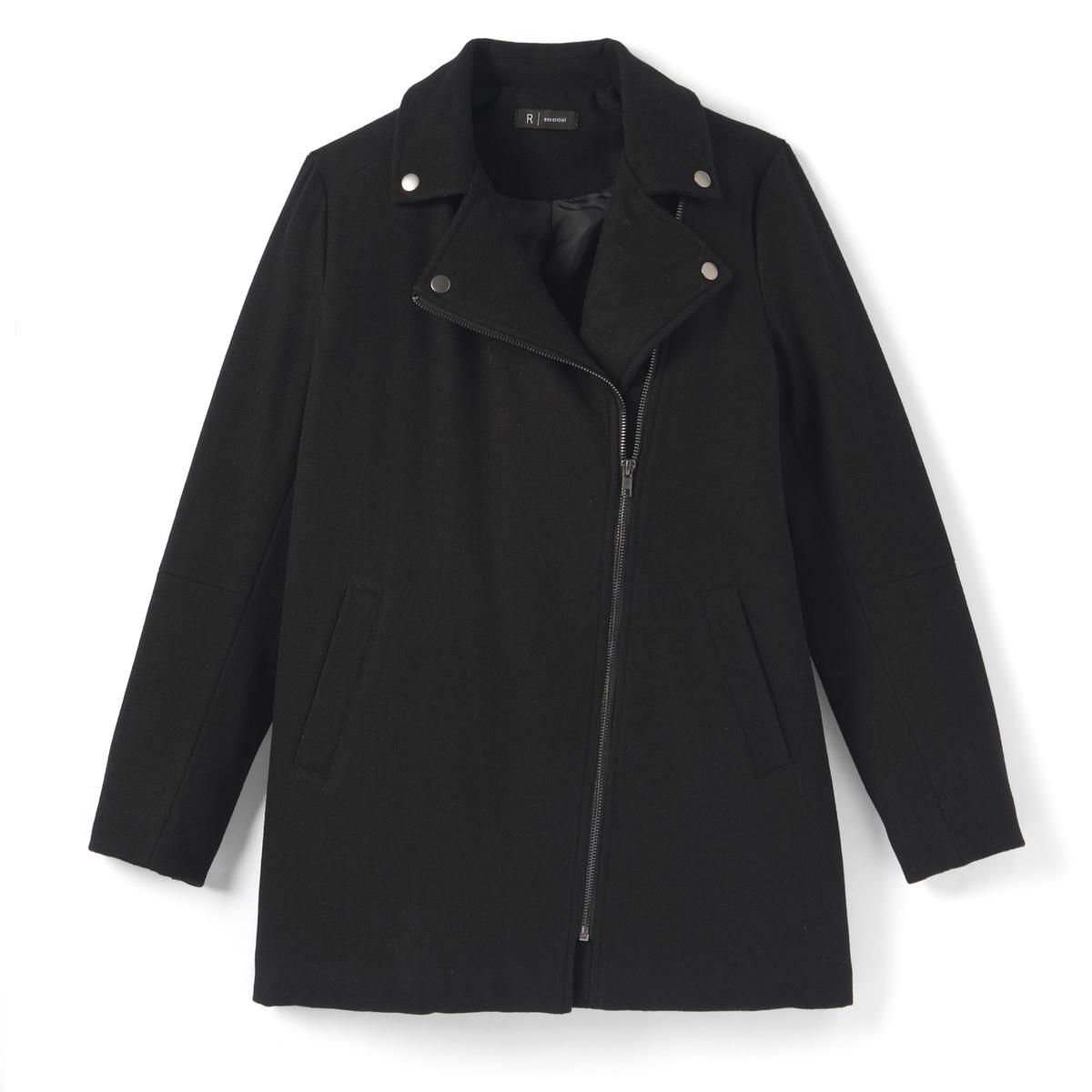 Пальто на молнии 10-16 лет