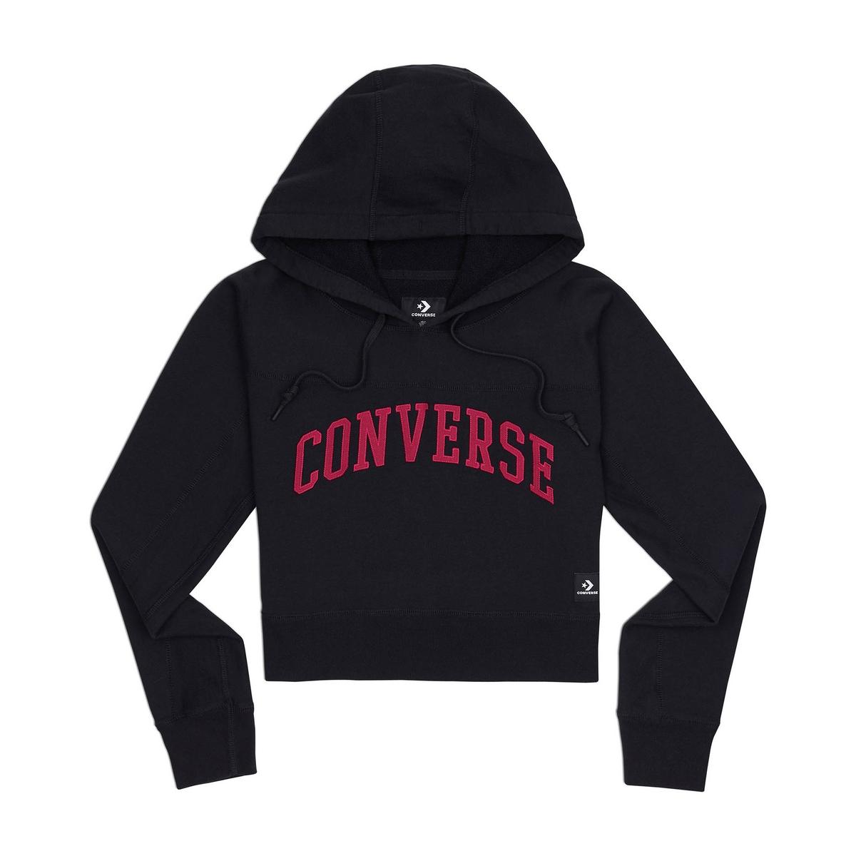 Imagen principal de producto de Sudadera con capucha y estampado delante, 100% algodón - Converse