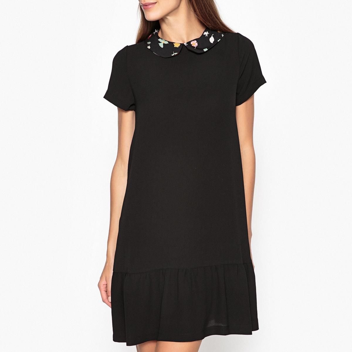 Платье с рисунком BLOG
