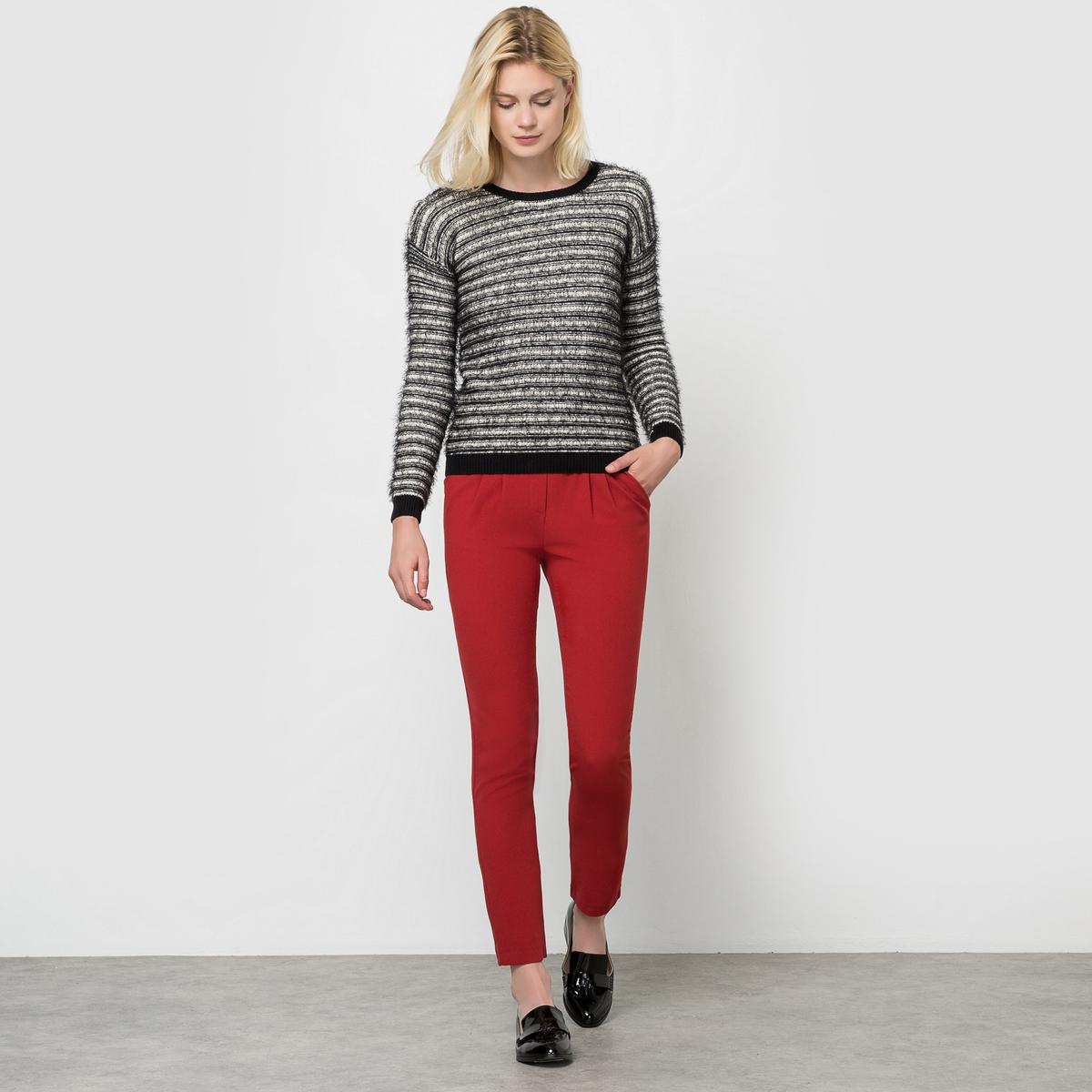 Пуловер с длинными рукавами, SUNAПуловер с длинными рукавами, модель SUNA от PEPE JEANS. Прямой покрой. Круглый вырез. Состав и описаниеМарка: PEPE JEANS.Модель: SUNAМатериал: 50% хлопка, 50% полиамида.<br><br>Цвет: черный/ белый