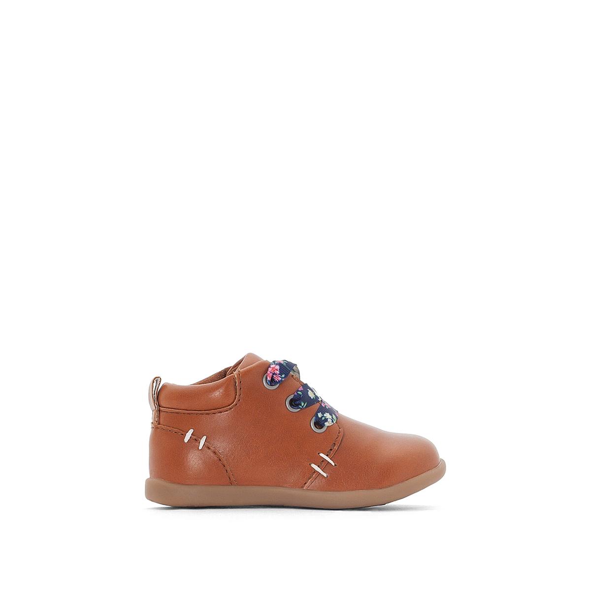 Ботинки на шнуровке либерти 19-25
