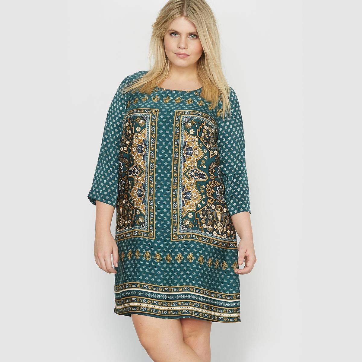 Платье с платочным рисунком