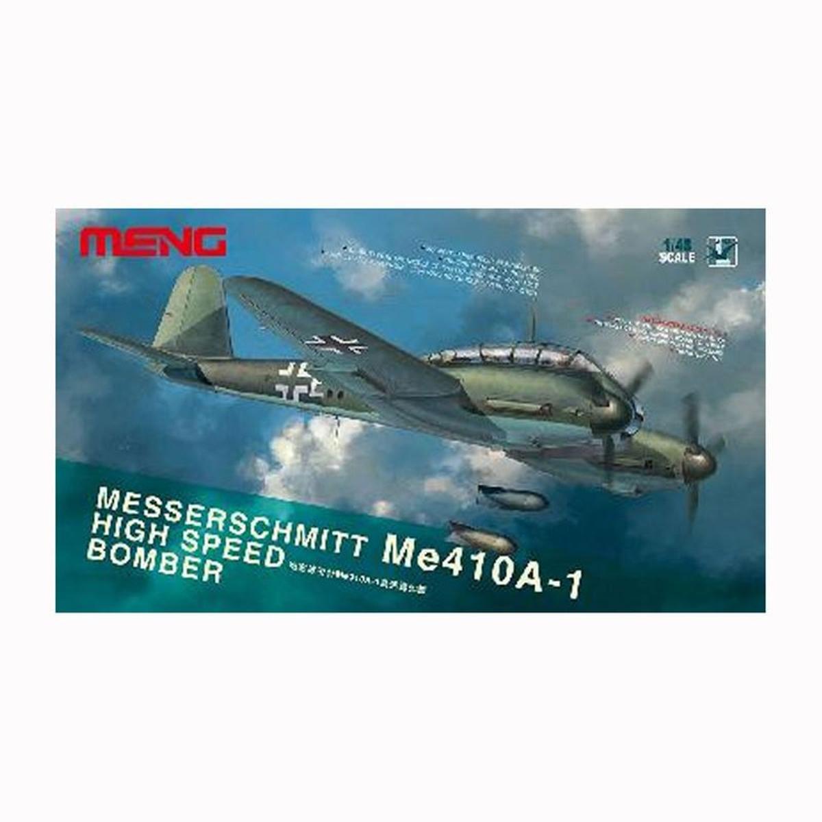 Maquette Avion MESSERSCHMITT Me-410a - Bombardier rapide allemand 1944