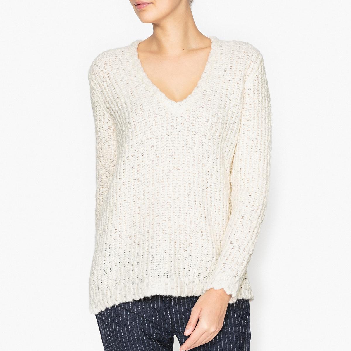 Пуловер с V-образным вырезом MARYLOU