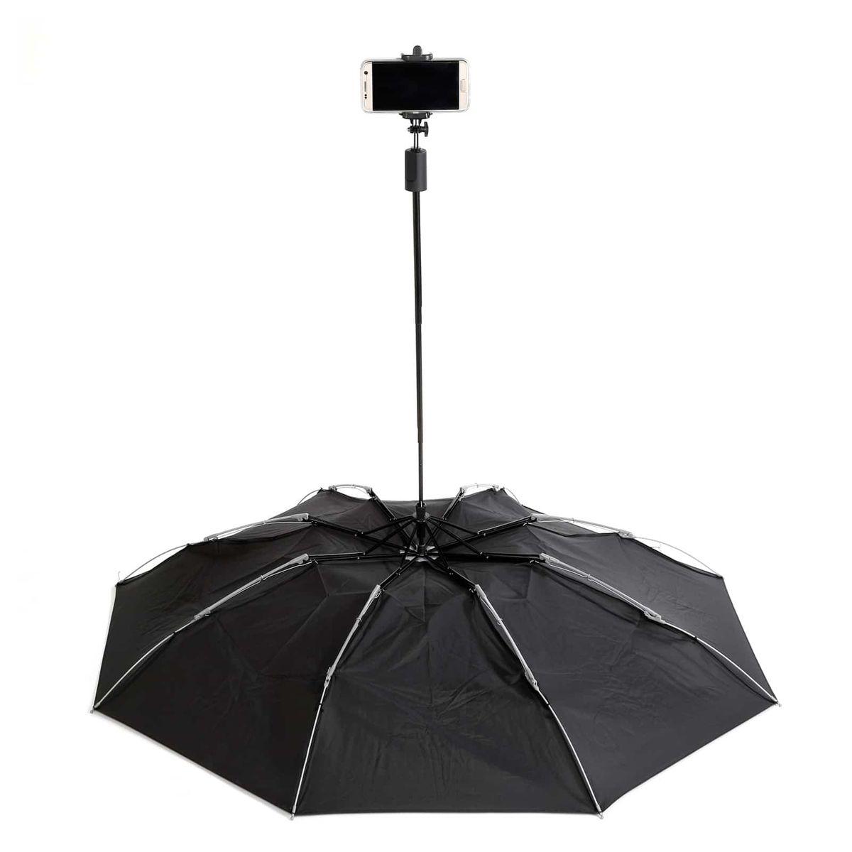 Parapluie selfie stick