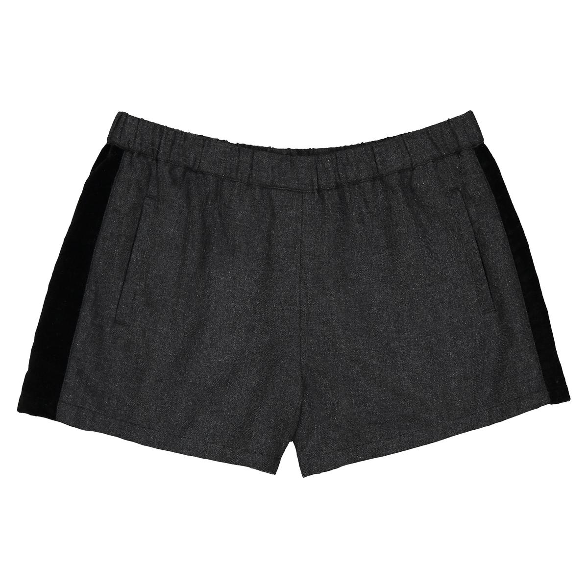 Shorts fascia velluto 3 - 12 anni
