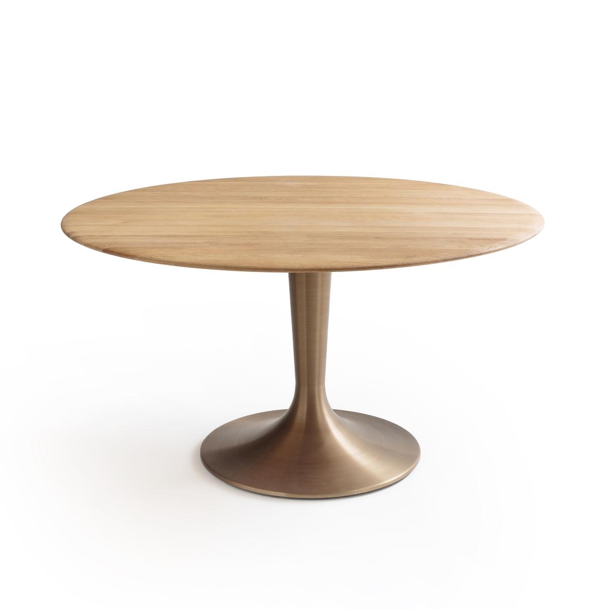 Столешница для стола Ø130 см Hisia из массива дуба