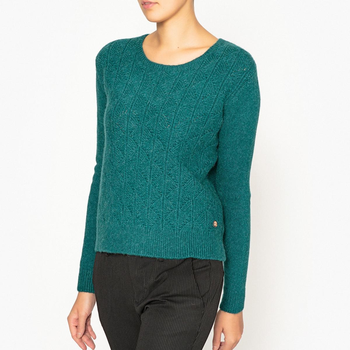 Пуловер из оригинального трикотажа MELI