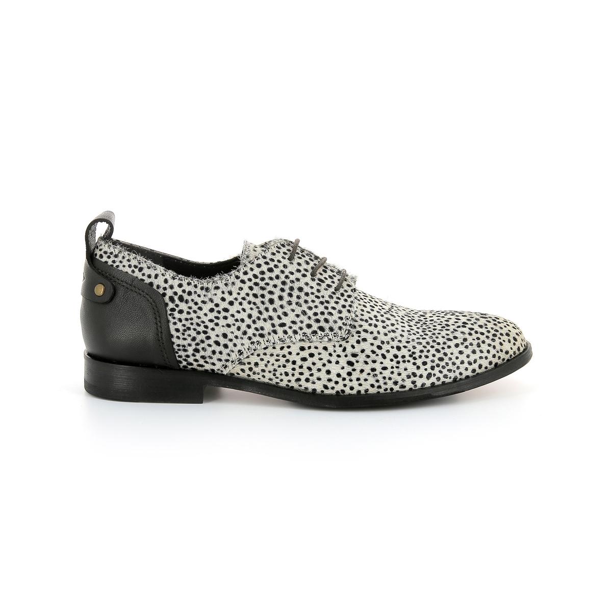 Ботинки-дерби из кожи Picadilly ботинки дерби из мягкой кожи takarika