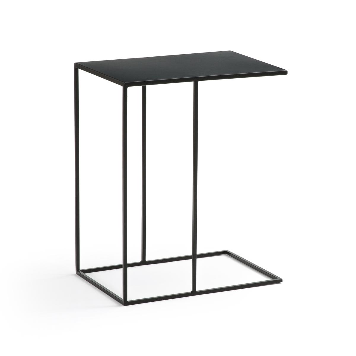 Столик LaRedoute Журнальный из металла HIBA единый размер черный