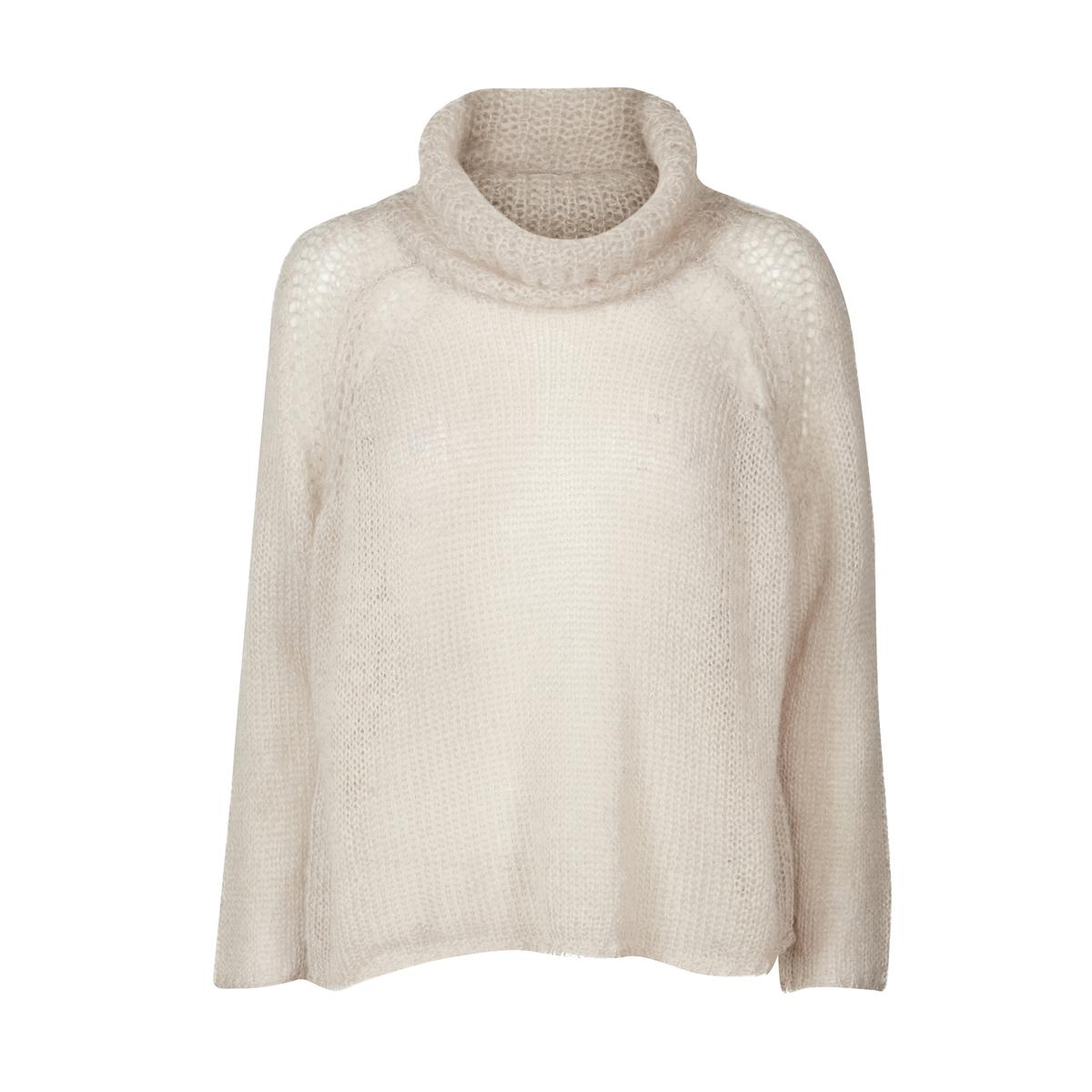 Пуловер-водолазка из тонкого трикотажа от AND LESS