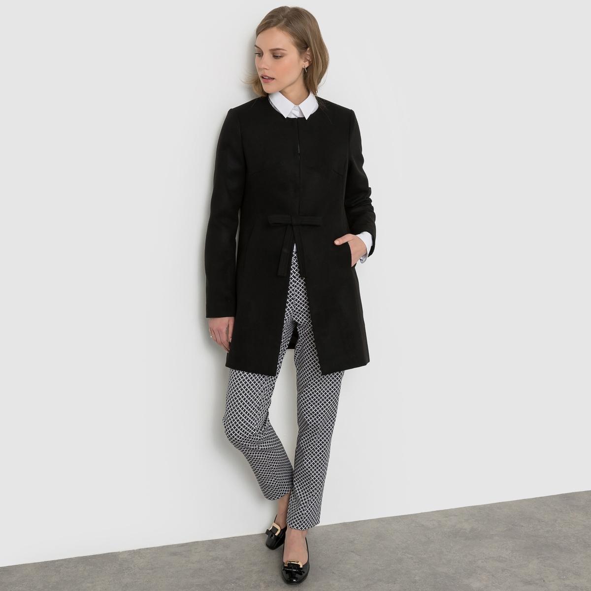 Пальто с бантом пальто la biali пальто