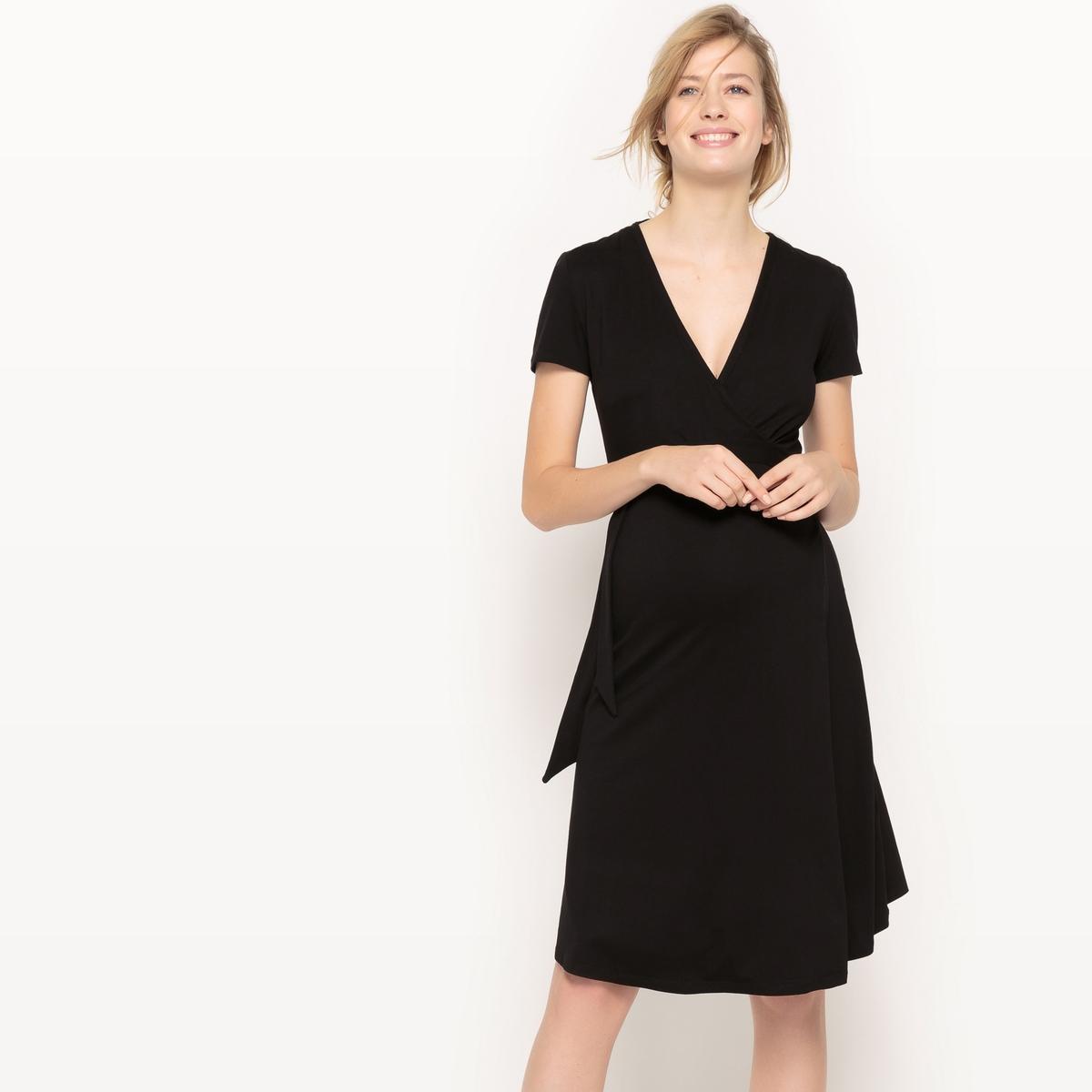Платье с запахом для периода беременности