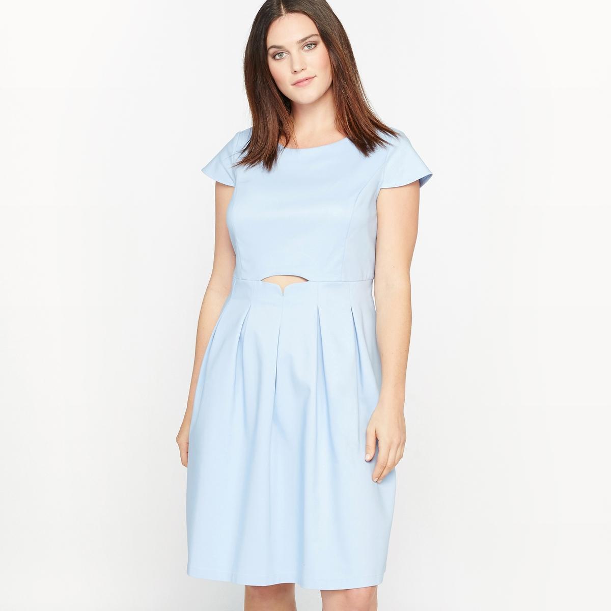 Платье расклешенное с короткими рукавами платье расклешенное с короткими рукавами