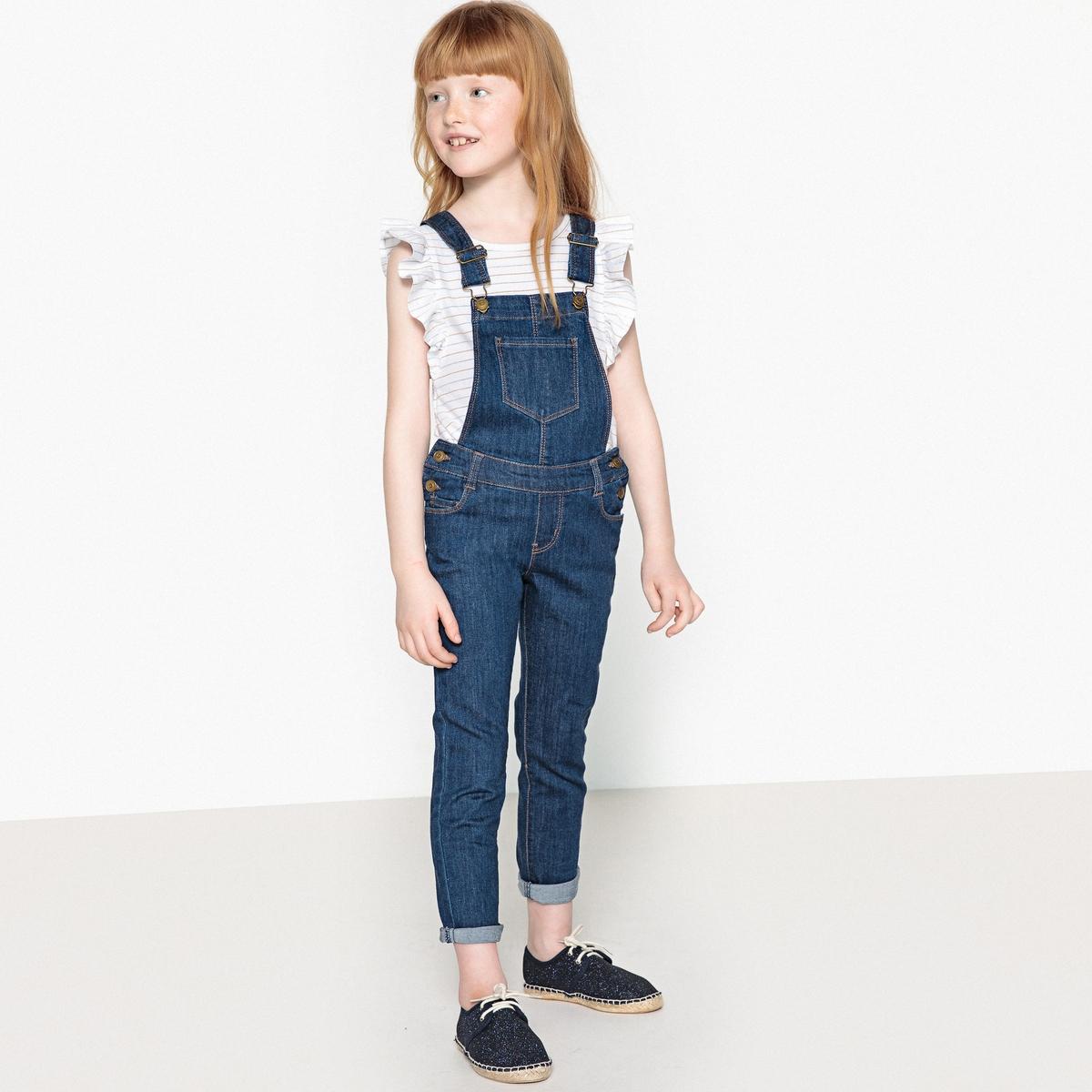 Комбинезон с брюками джинсовый, 3-12 лет от La Redoute Collections