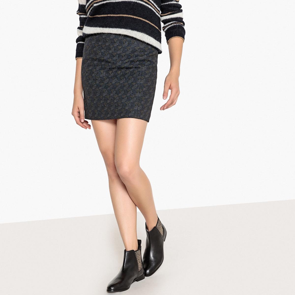 Юбка жаккардовая укороченная JARIUS юбка карандаш укороченная printio эскиз