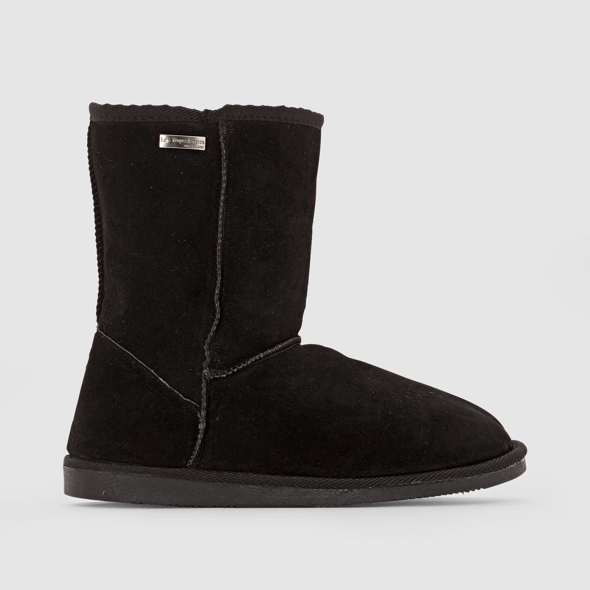 Ботильоны на меху SnowОписание:Детали   •  Высота каблука : 2,5 см •  Застежка : без застежки •  Круглый мысок •  Велюровая отделка, нубукСостав и уход   •  Верх 100% спилок •  Подкладка 100% текстиль •  Стелька 100% текстиль •  Подошва 100% синтетический материал<br><br>Цвет: серый,темно-бежевый,темно-синий,черный<br>Размер: 41.40.39.38.36.39.40