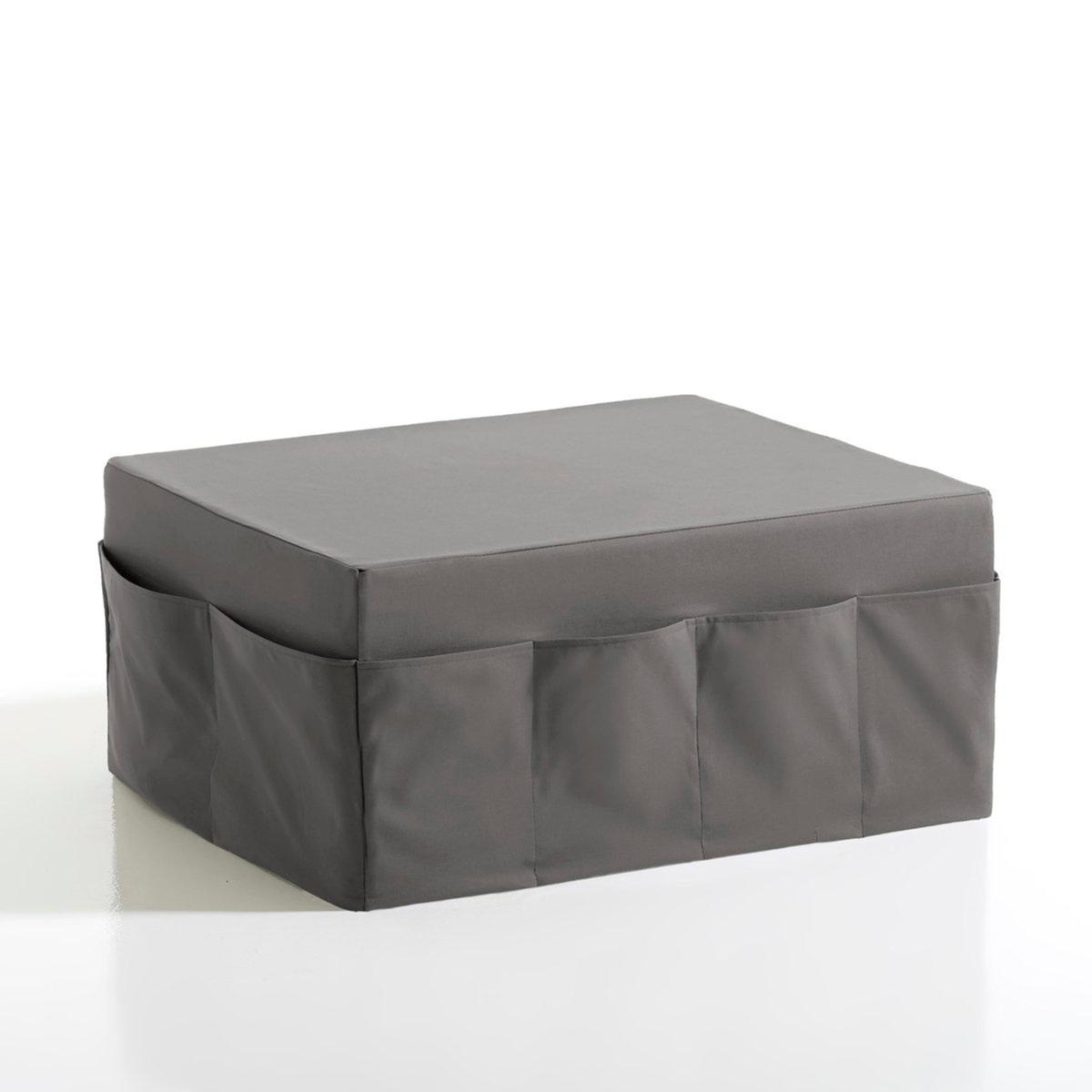 Банкетка-пуф со съемным чехлом, большая,  MeetingМягкая банкетка-пуф со съемным чехлом Meeting, комфортный материал Bultex, большая. Банкетка-пуф со съемным чехлом и многочисленными карманами просто незаменима для тех, кто стремится к комфорту, красоте и практичности. Эта банкетка-пуф может выполнять функции сидения, низкого столика и дополнительного спального места! Можно объединять и сочетать банкетки в 7 цветовых гаммах! Производство: Франция.      Описание банкетки-пуфа Meeting:В гостиной можно использовать как сиденье и как маленький стол.В спальне можно разложить 3 блока из пеноматериала, и пуф превратится в небольшую удобную кровать.12 карманов. Характеристики банкетки-пуфа Meeting:Чехол из 100% хлопка с тефлоновым покрытием против пятен.Качество сиденья:Материал Bultex дарит мягкость и длительное чувство комфорта (плотность 37 кг/м?).Найдите другие модели из коллекции Meeting на нашем сайте laredoute.ru.Размеры банкетки-пуфа Meeting:Общие:Ширина: 80 см.Высота: 36 смГлубина: 63 см.В разложенном виде: Ширина 80 x длина 189 x толщина 12 см. Клиентская служба Ла Редут:Срок службы деталей 1 год.<br><br>Цвет: красный,светло-серый,фисташковый