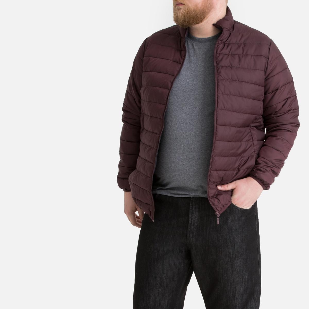 Куртка La Redoute Стганая тонкая с длинными рукавами 54/56 красный куртка la redoute тонкая непромокаемая maxime xxl синий