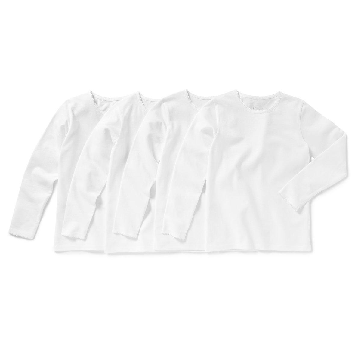 Confezione da 4 T-shirt maniche lunghe 3 - 12 anni
