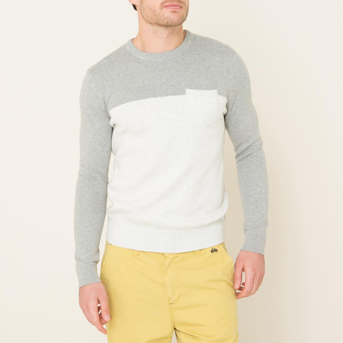 Пуловер DANILOСостав и описание    Материал : 100% меланжевый трикотаж   Марка : HARRIS WILSON<br><br>Цвет: экрю/серый<br>Размер: XL