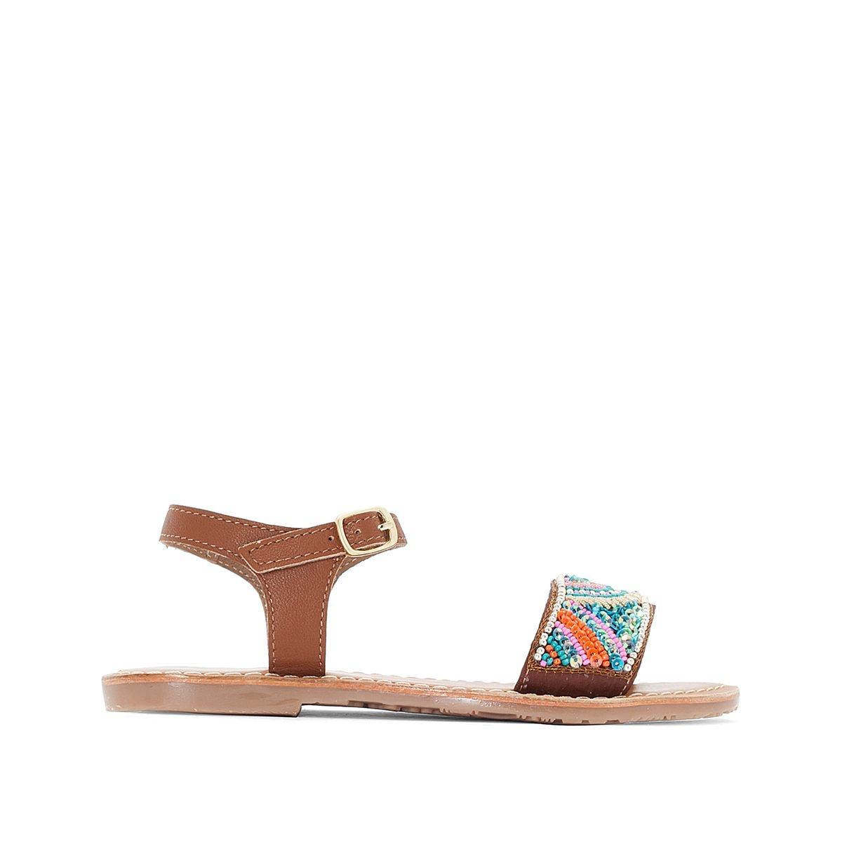 Sandales à perles 28-39