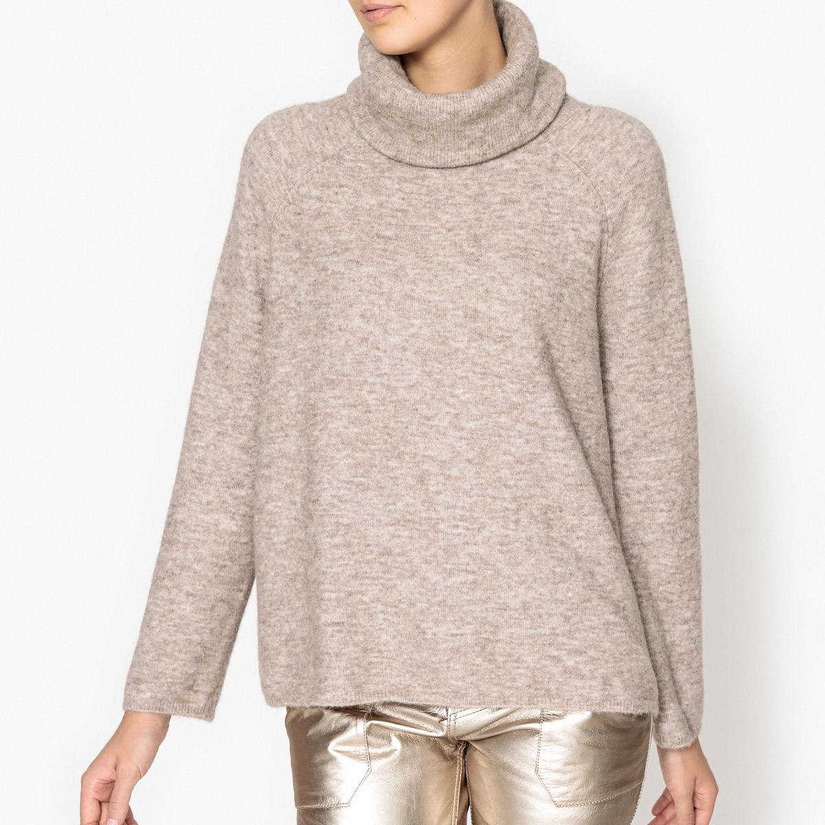 Пуловер свободный с воротником с отворотом PLUNKETT пуловер свободный с воротником с отворотом plunkett