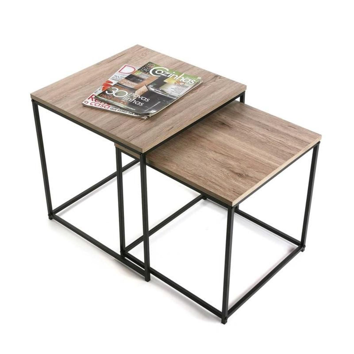 Tables basses ajustables ( lot de 2 )