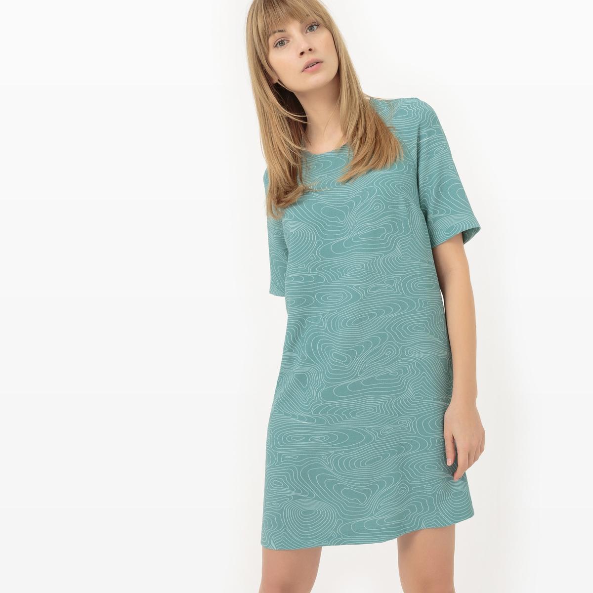 Платье-футляр с графичным рисунком платье футляр с рисунком rustica