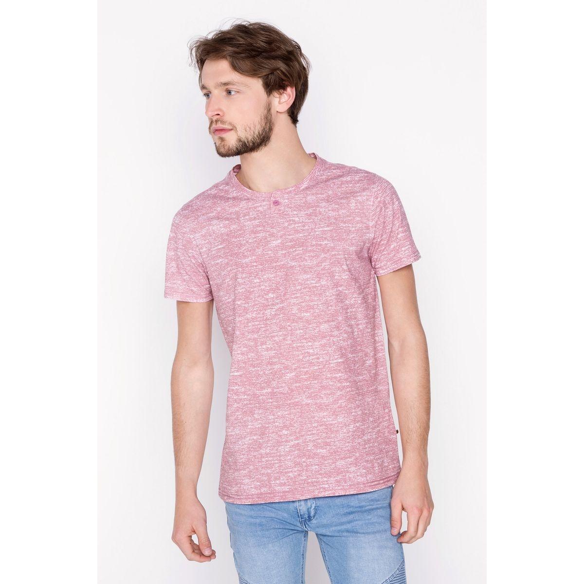 T-shirt homme maille moulinée