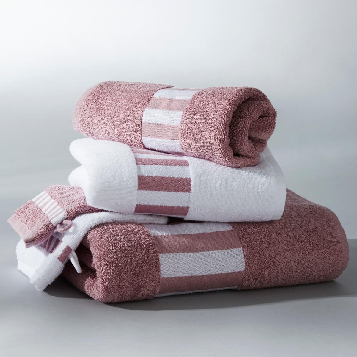 Набор из 1 банного полотенца + 2 полотенец + 2 банных рукавичек, 420 г/м2Набор банных принадлежностей включает:- 1 банное полотенце (70 x 140 см) - 2 туалетных полотенца (50 x 100 см) - 2 банные рукавички (15 x 21 см)<br><br>Цвет: фиалковый