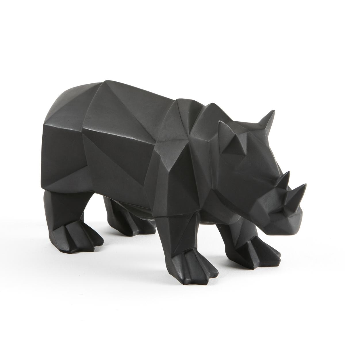 Носорог декоративный BLAZIAНосорог для украшения вашего интерьера в кубическом стиле. Его конструкция напоминает поделки оригами.Характеристики декоративного носорога Blazia :Декоративный носорог из полимера.Размеры декоративного носорога Blazia :Длина 28 смШирина 11 смВысота 14 см<br><br>Цвет: черный<br>Размер: единый размер