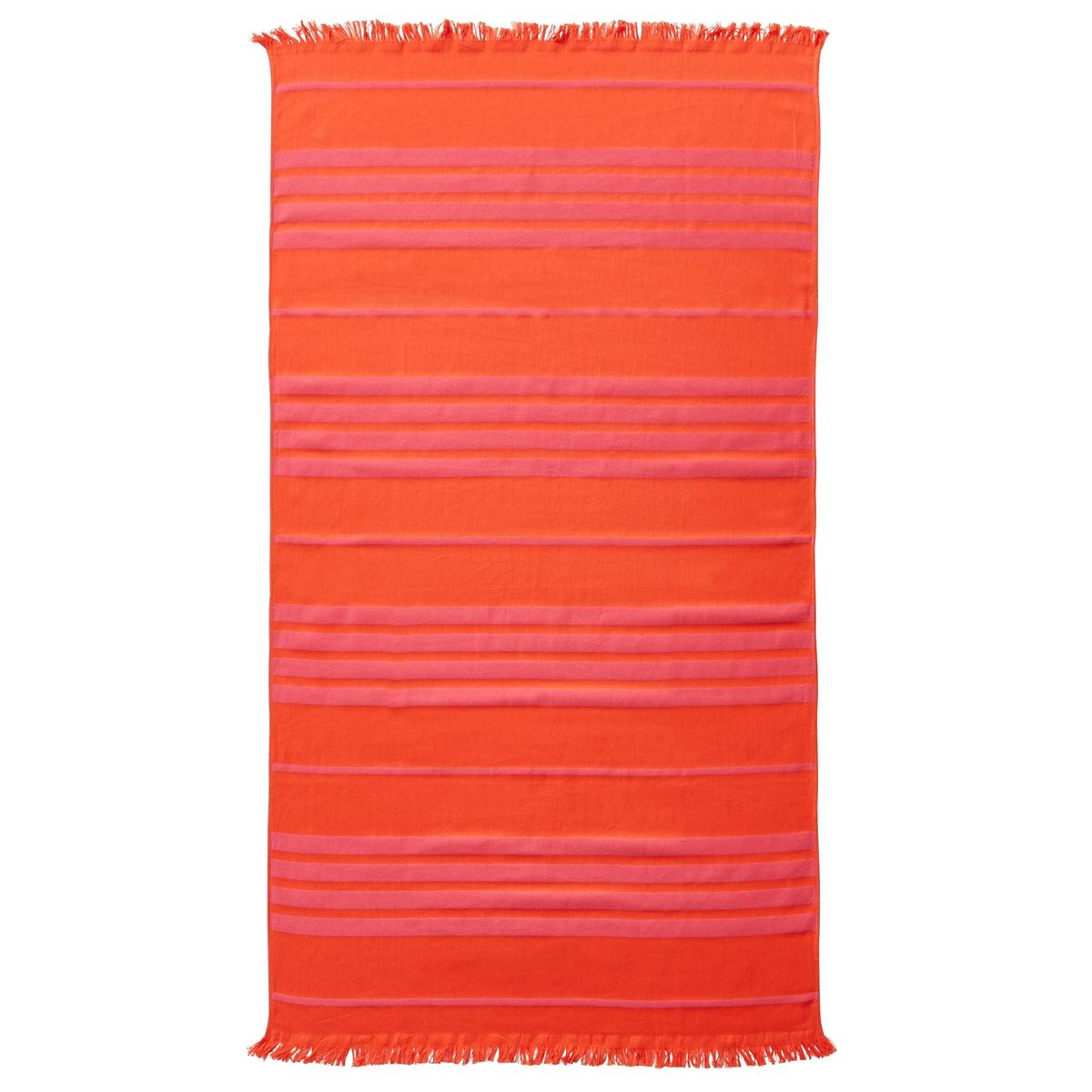 Полотенце пляжное PeppyОписание пляжного полотенца Peppy :Рисунок в полоску в тон, отделка бахромойХарактеристики пляжного полотенца Peppy :100% хлопок300 г/м?.Машинная стирка при 40 °С.Размеры пляжного полотенца Peppy :90 x 140 см<br><br>Цвет: бирюзовый,желтый,коралловый