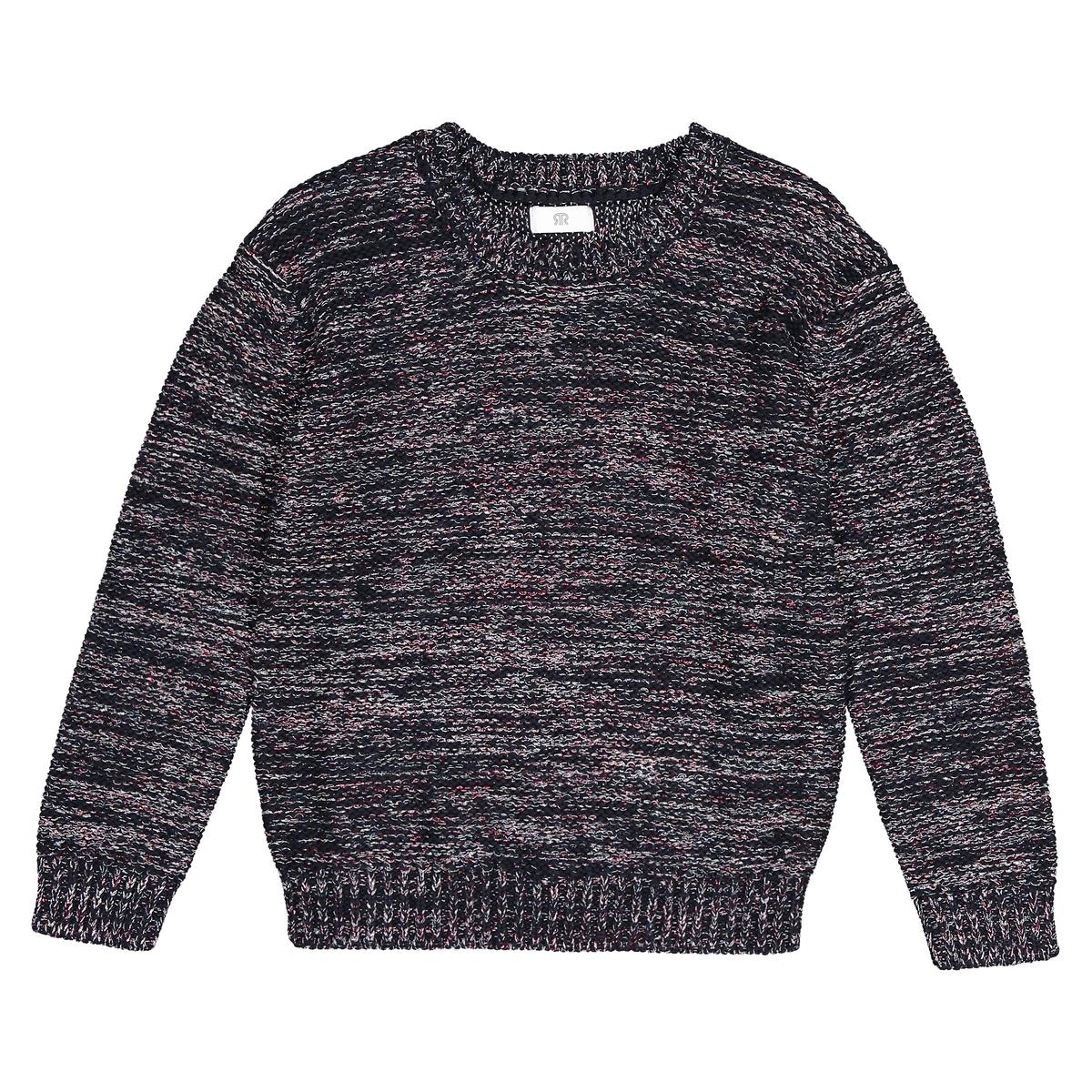 Пуловер La Redoute Из блестящего трикотажа 3 года - 94 см синий пуловер из блестящего трикотажа 3 12 лет