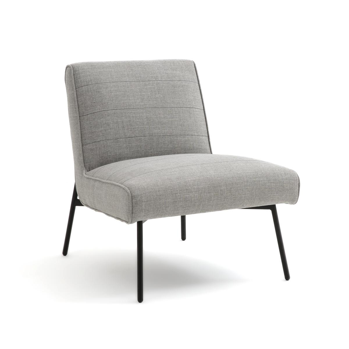 Кресло LaRedoute RAFA единый размер серый