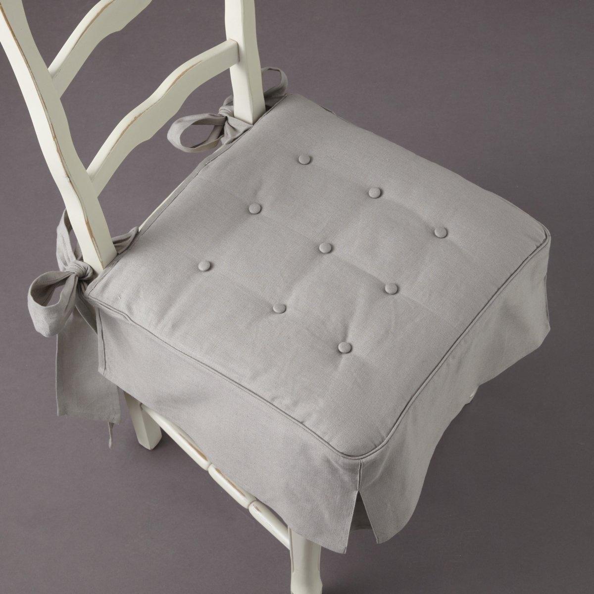 Подушка на стул из льна и хлопка, Jimi подушка на стул арти м райский сад