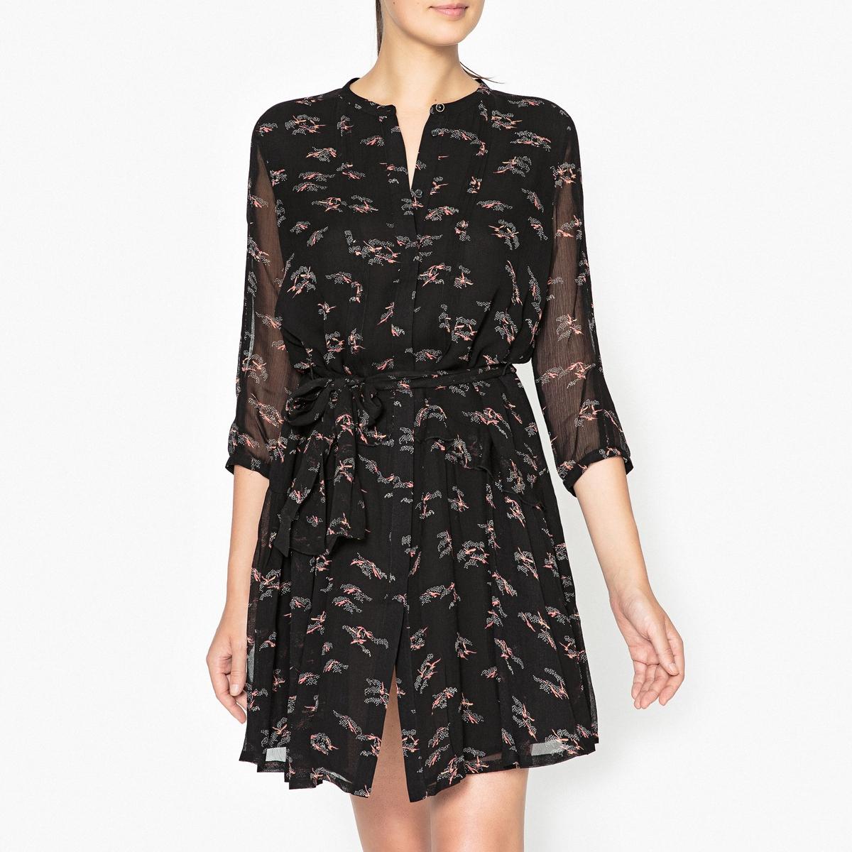 Платье с рисунком MICHIKI